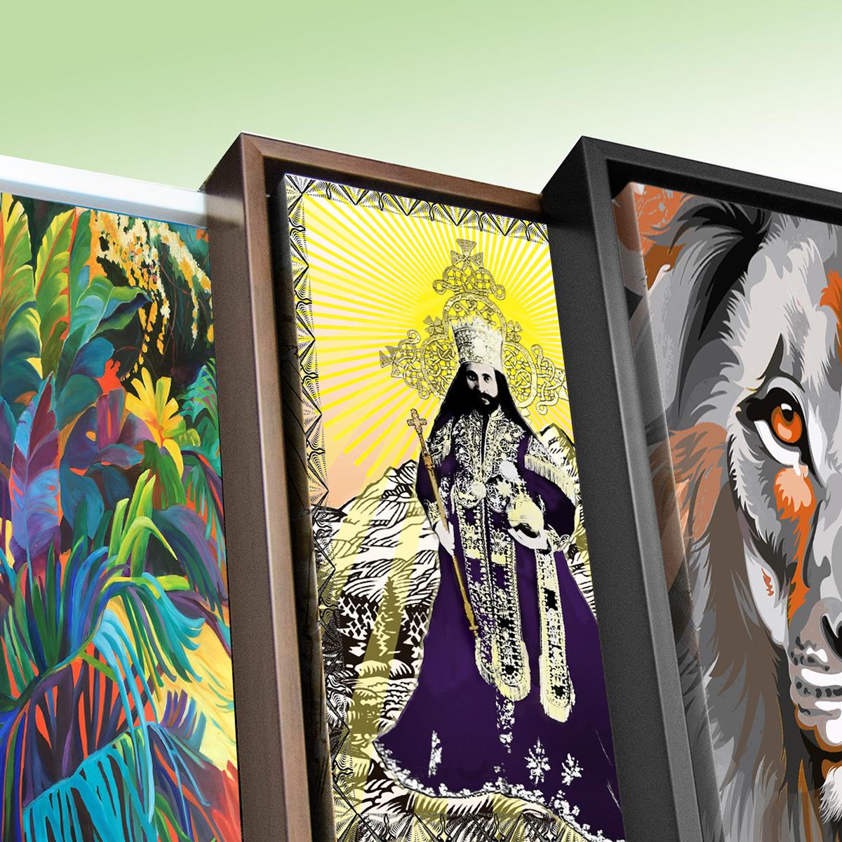 Rasta Reef Art Prints - Rasta Reef